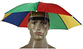 Funny Umbrella Hat Adult and Kids Folding Cap for Beach Fishing Golf Party Headwear