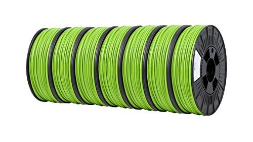 ICE FILAMENTS ICE7VALP127 Lot de 7 filaments PET 2,85 mm 0,75 kg Gracious Green