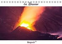 La Réunion - Bergweh ® (Tischkalender 2022 DIN A5 quer): Der feurige Vulkan Piton de la Fournaise, wilde Wellen und der exotische Dschungel geben einen Eindruck von der Vielfalt La Réunions. (Monatskalender, 14 Seiten )