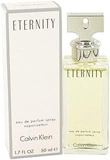 ĆK Eternity women Eau De Parfum Spray 1.7 OZ. Oz/ 50 ml
