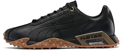 PUMA H.St.20 Herren Trainings-Sneakers, Schuhe, leger, Schwarz, Schwarz (Puma Team Gold Black/Puma), 37 EU