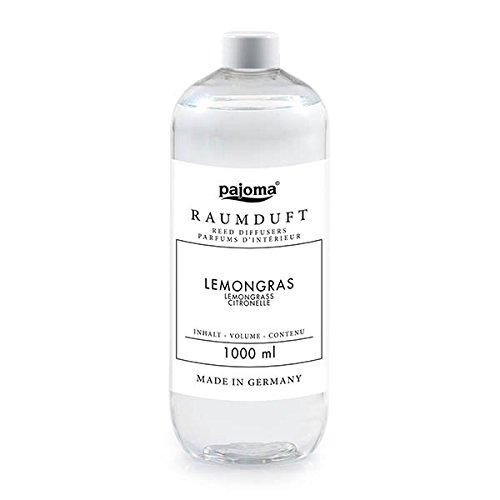Raumduft Nachfüllflasche 1000ml pajoma Duftöl für Diffuser Duft wählbar (Lemongras)