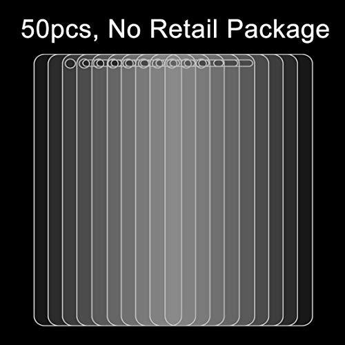 YUNCHAO Película de Vidrio Templado 50 PCS Huawei P9 Lite 0.26mm 9H Dureza Superficial 2.5D Película Protectora de Vidrio Templado a Prueba de explosiones, sin Paquete Proteger por teléfono