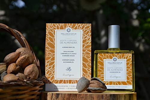 Bio-Körperpflegeöl - reines Mandelöl aus Mallorca