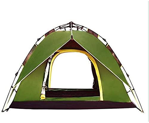 Equipo de campamento Tienda de campaña Tienda de campaña cálida de invierno Tienda de campaña abierta instantánea de 2 segundos Tienda de campaña para 2 personas Automático Doble capa Impermeable M
