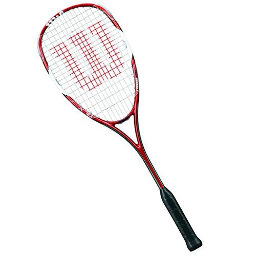 Wilson Squash-Schläger, Damen/Herren, Fortgeschrittene, Tour 150, WRT912330, Rot/Weiß