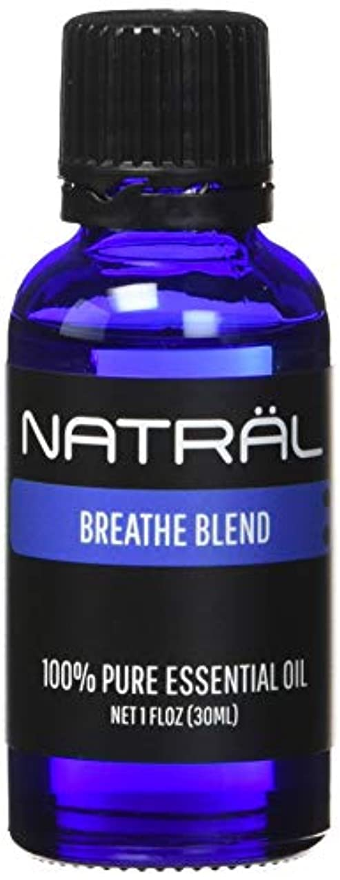 NATR?L Breathe Blend, 100% Pure and Natural Essential Oil, Large 1 Ounce Bottle