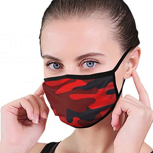 Mundmaske, Camo Abstract Modern Camouflage Mundschutz, Hygienemaske, Warmhalten bei Kälte, Schutz vor Staub, Keimen, Allergien, Rauch, Verschmutzung, Asche, Pollen für Männer, Frauen