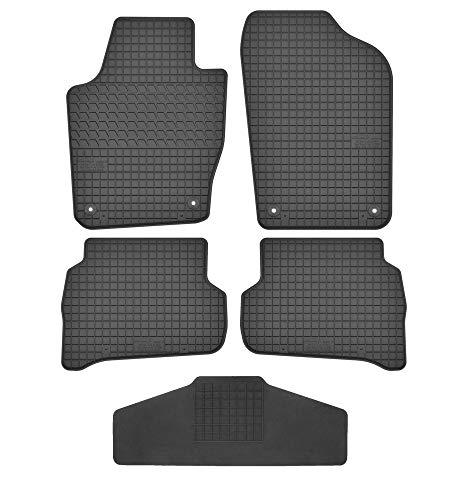 Fußmatten für VW Polo 5 V 2009-2017 6R 6C Gummi Gummimatten Einzeln und als Set