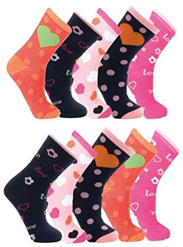Palleon - Calcetines - para niña multicolor 23-26