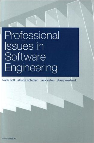 Professional Issues In Software Engineering 3 Rowland Diane Ebook Amazon Com