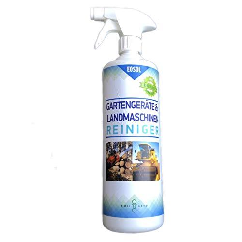 EOSOL Motorsägenreiniger/Kettensägenreiniger, 1.000 ml in Schaumsprühflasche, höchste Reinigungskraft bei Harzen, Ölen und Fetten, Hochleistungsreiniger auf Wasserbasis