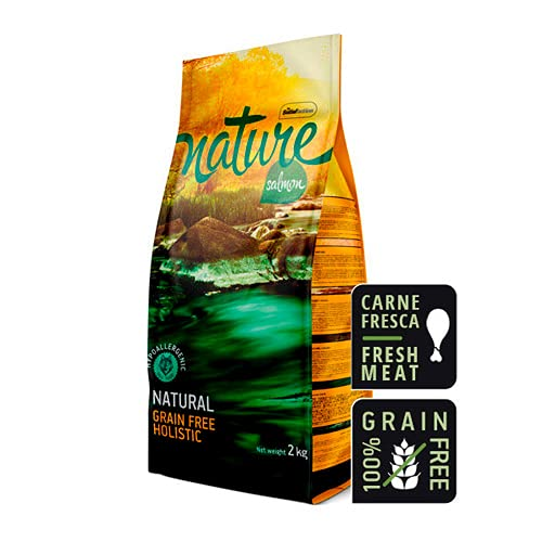 Satisfaction Nature - Pienso para Perros de salmón - 2 kg