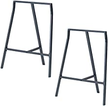 wooden sawhorse table legs
