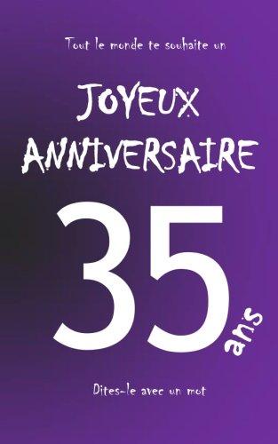 By Maverick Teleti Joyeux Anniversaire 35 Ans Livre Dor A Ecrire Taille M Violet Telecharger Epub Pdf