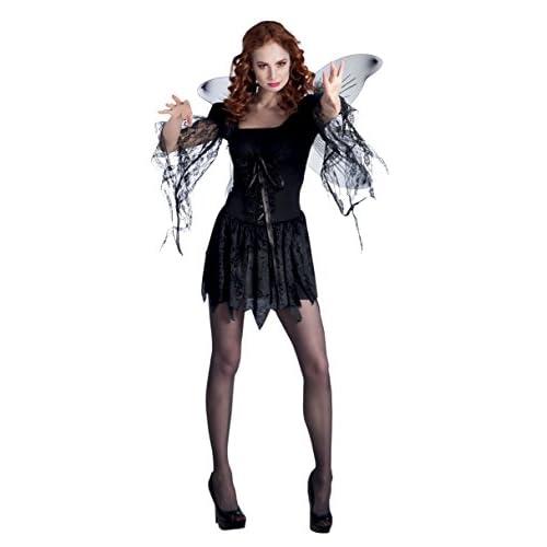Boland- Costume Ragazza Dark Angel per Adulti, Nero, Taglia 36/38, 79044