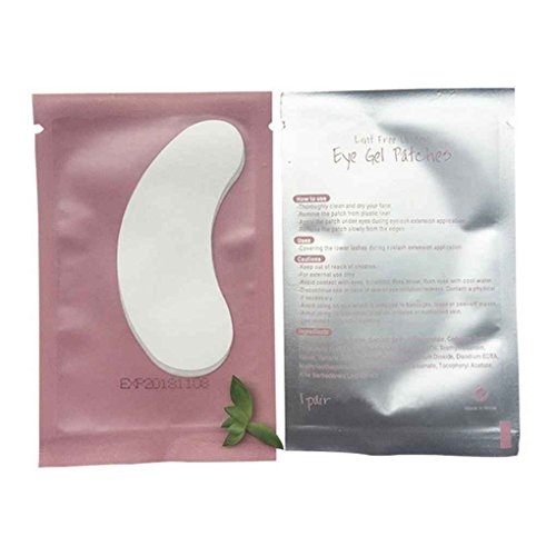 Diamoen / Set 50pcs Patches Papier Extension Cils Grafted Undereye Position Stickers Cils Pads Conseils Outils de Maquillage