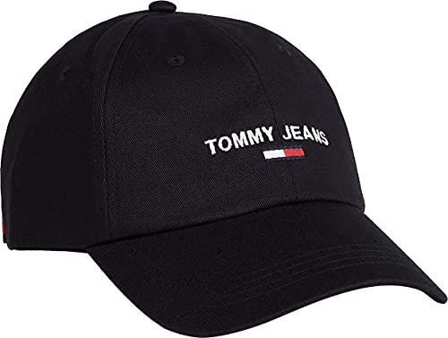 Tommy Jeans Tjm Sport Cap, Tapa Hombre, Negro, Taille unique