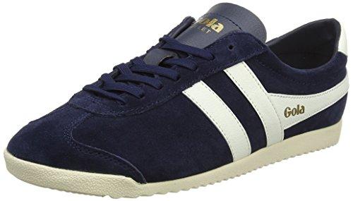Gola Damen Bullet Suede Sneaker, Blau (Navy/Off White), 36 EU