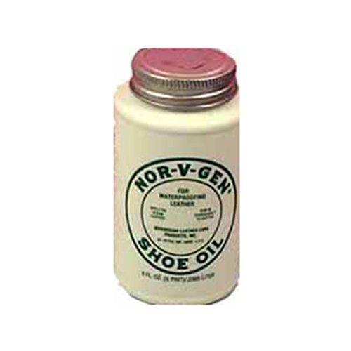 NOR-V-GEN Shoe Oil Leather Waterproof Conditioner 8 oz