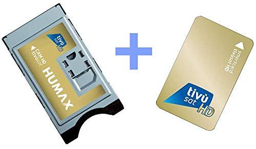 HUMAX Scheda CAM CI+ compatibile CI con smartcard TivùSat