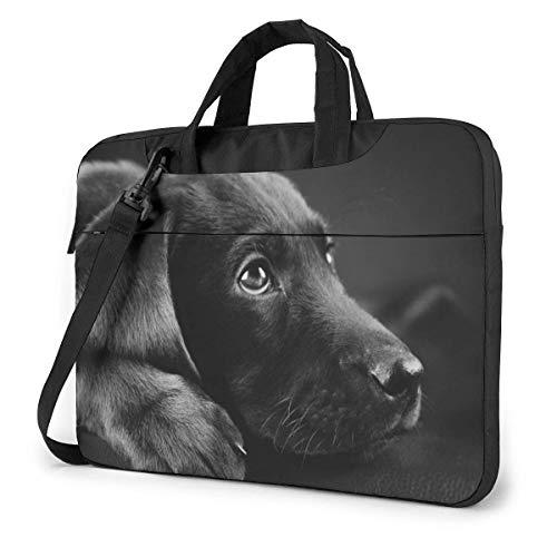 Bolsa de hombro para portátil Labrador Dog 3 bolsa de ordenador portátil Bolsa de hombro Messenger Maletín 13/14/15.6 pulgadas
