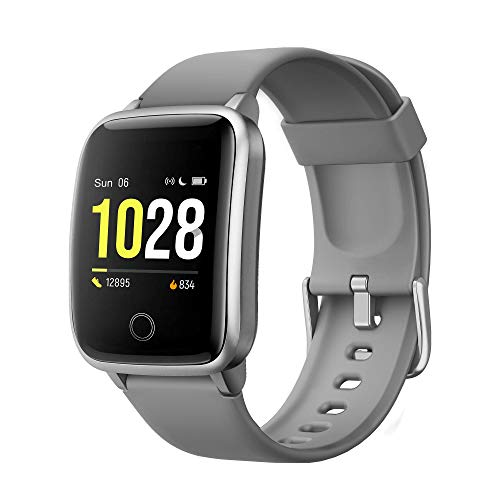 GRDE Smartwatch, Reloj Inteligente Impermeable IP68 con Monitor Sueño Pulsómetros Caloría Podómetro Operación con un Clic Deportivo Fitness Smartwatch Reloj Inteligente Mujer Hombre para iOS Android