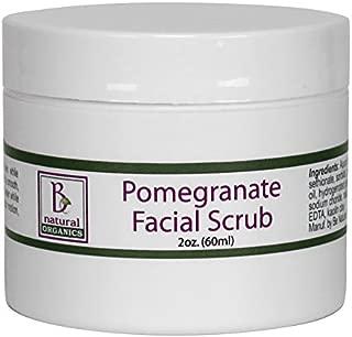 Be Natural Organics Pomegranate Facial Scrub 2 Oz (60 ml)