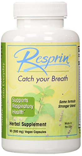 Resprin Natural Breathing Enhancement 500 Mg. - 90 Capsules
