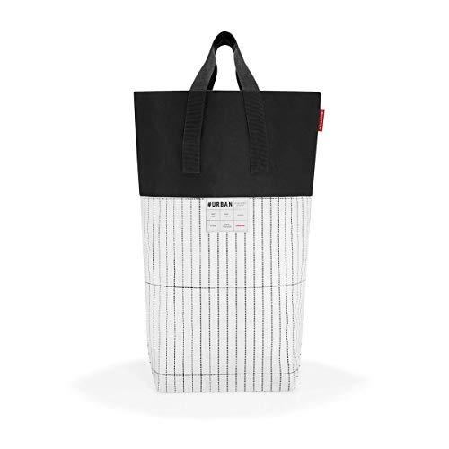 reisenthel urban laundry tokyo black & white Maße: 55 x 68 x 23 cm / Volumen: 60 l