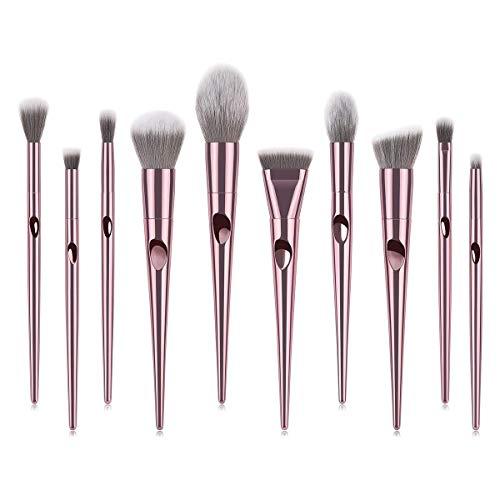 Brosse de maquillage Set 10pcs / set pinceaux de maquillage Set Fondation Kit Ombre À Lèvres Ombre À Lèvres Maquillage Outils Cosmétiques Set Brosses
