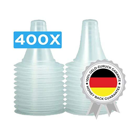 400 Schutzkappen für alle Braun Thermoscan Ohrthermometer | Ohr Fieberthermometer | Ohrenthermometer