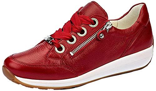 ara Damen OSAKA Sneaker, (Rot 10), 38.5 EU