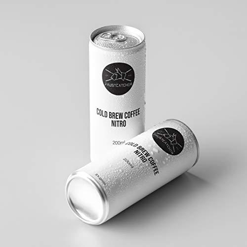 12X Bio/Organic COLD BREW COFFEE on NITRO - Kaltgebrauter Kaffee - cremig und weich - aus feinsten Bio COLOMBIA Bohnen