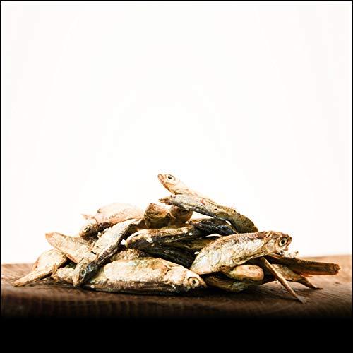 George & Bobs Omena - 1000g | Kleine Fische ideal als Snack und zum Training | Natürlich und ohne Zusatzstoffe