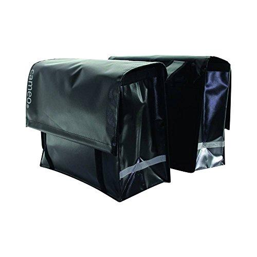 Cameo 1X Fahrradtasche, Schwarz, 42.3 x 3 x 44.1 cm, 49 Liter