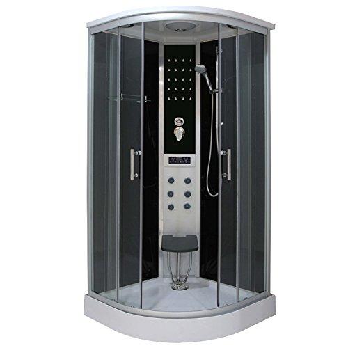Bagno Italia Cabina box doccia Idromassaggio 90x90 con sistema quickline I