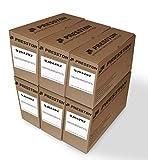 6X Presston 9J04202 Tóner Negro Reciclado Compatible Konica Minolta PagePro 1400 1400w