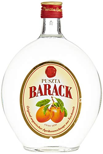 Puszta Barack Original Ungarischer Aprikosenschnaps Obstbrände ( 0.7 l)
