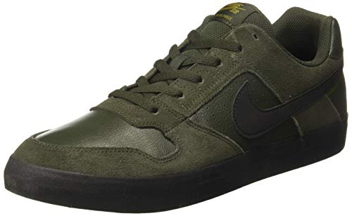 Nike SB Delta Force Vulc, Chaussures de Skateboard Mixte Adulte, Multicolore (Sequoia/Black/Olive Flak 301), 44 EU