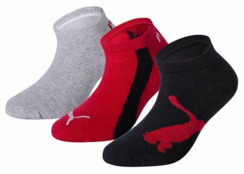 PUMA Invisible 3P Calza Sneaker, Nero, 35/38 EU Unisex – Adulto