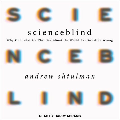 Scienceblind audiobook cover art