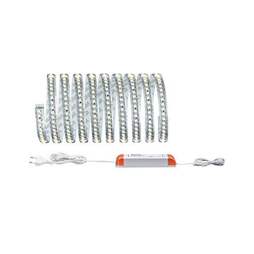 Paulmann 706.70 Function MaxLED 1000 Basisset 3m Warmweiß 40W 230/24V 75VA Silber 70670 LED Lichtband Lichtstreifen Lichtschlauch