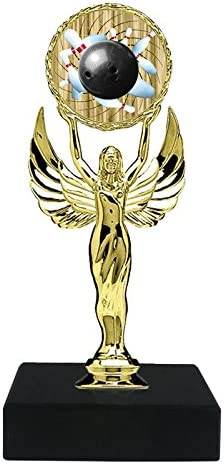 Express Medals 1-3-5 Pack of 6 Bowling Cheap mail order shopping Trophy Luxury Award inch Per on