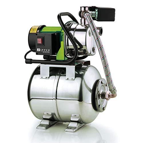 Zipper ZI-HWW1200N - RVS Tuinpomp 3800 l/h - 1200W - 230V - 50Hz