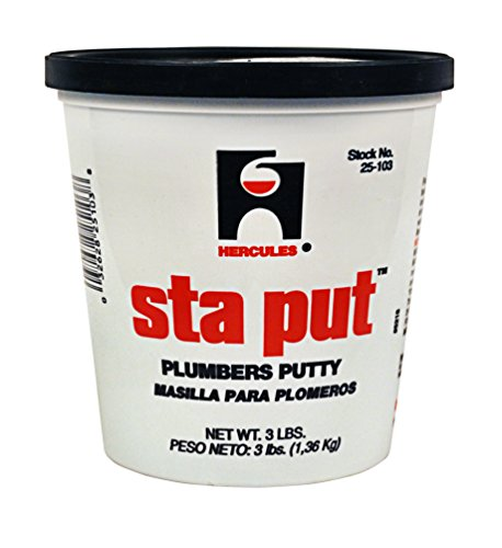 Oatey 25103 Hercules Sta Put 3-Pound Plumbers Putty