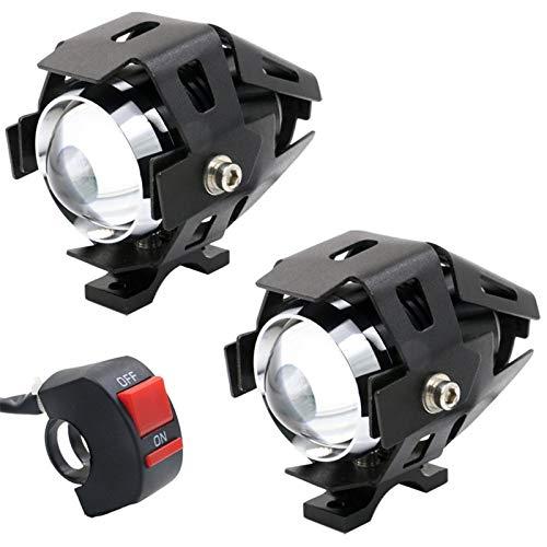N&F LED Fahrradlicht Set Fahrradbeleuchtung 2400 Lumen USB Wiederaufladbare Einfach zu verwenden Passend für alle Fahrräder, Straße, Berg