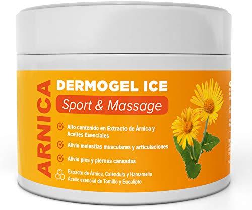 ARNICA MONTANA CREAM GEL - Aide à soulager et apaiser les inconforts musculaires et articulaires - Teneur élevée en Arnica, Calendula, Extrait d'hamamélis - Massage (300 ml)