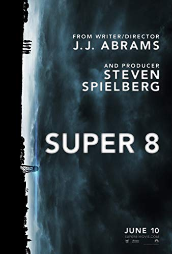 SUPER 8 MOVIE POSTER 2 Sided ORIGINAL Advance 27x40 J.J. ABRAMS