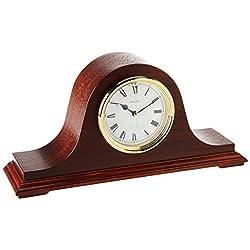 Bulova B1929 Annette II Chiming Clock, Mahogany